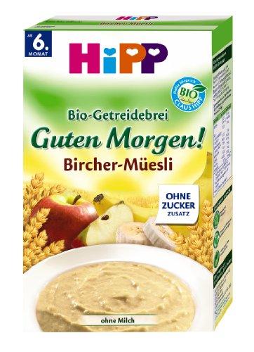 Hipp Bio Getreide Brei Guten Morgen Brei Bircher Müesli 6er